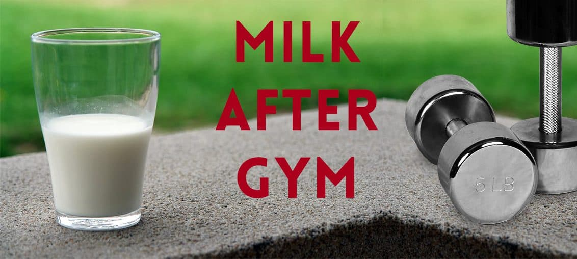 Milk after Workout - Benefits of Drinking Milk after gym on MilkandMore.co.in